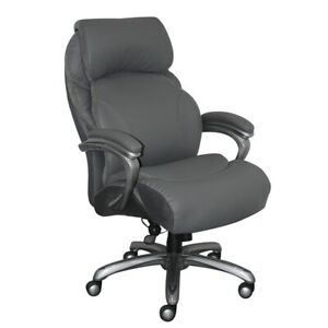 Serta Big And Tall Executive Office Chair With Smart Layers Gray