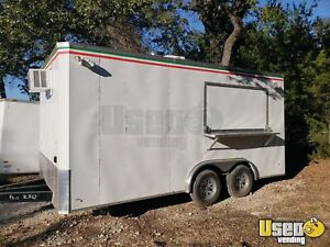 2018 8 X 16 Pizza Concession Trailer For Sale In Texas