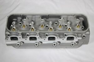 Big Block Chevy Bbc 454 Rectangle Port Bare Aluminum Cylinder Heads 124cc 345cc