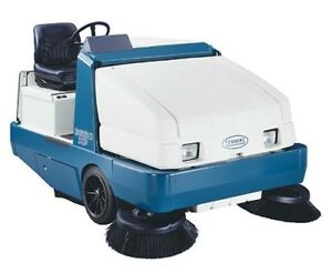 Tennant 6650xp Lp Rider Floor Sweeper Re manufactured Free Shipping