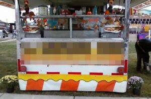 Food Concession Trailer With Truck For Sale In Ohio