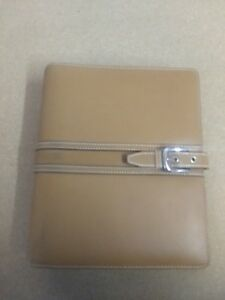 Franklin Quest Covey Leather Trim Classic Planner 7 ring