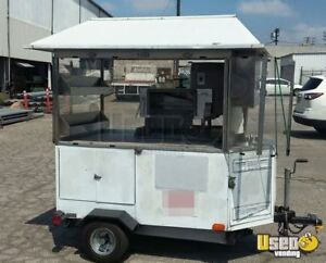 4 6 X 6 Shaved Ice Concession Trailer For Sale In California