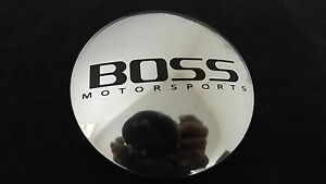 Boss Motorsports Custom Wheel Center Cap Polished Finish 3184