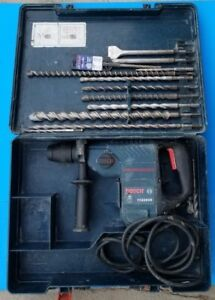 Bosch Boschhammer 11236vs Sds plus Corded Rotary Hammer Drill With Case And Bits