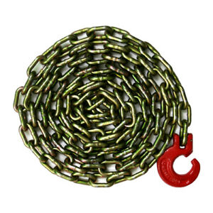 Logging Chain Choker Chain 10 Feet With Choker Hook 5 16