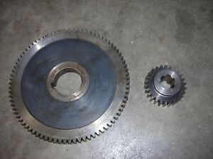 Bridgeport Mill Part Milling Machine Spindle Bull Gear Assembly