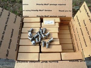 210 316 Stainless Steel 1 2 13 X 1 Long Flat Head Slotted Machine Screw