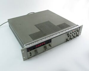 Hp Agilent 5328a Universal Counter 100mhz W Option 011 021