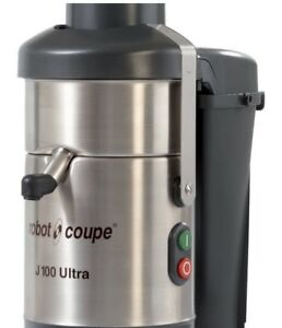 Robot Coupe J 100 Ultra Automatic Juicer With Continuous Pulp Ejection 3000 Rpm