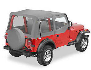 Replacement Top Skin Jeep Wrangler Yj 1987 1995 Charcoal Grey