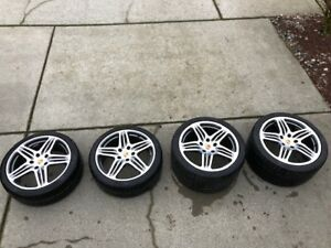 Porsche Turbo Wheels And Tires Oem 19