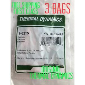 Thermal Dynamics 9 8215 Electrodes 3 Bags 15 Electrodes usa Supplier