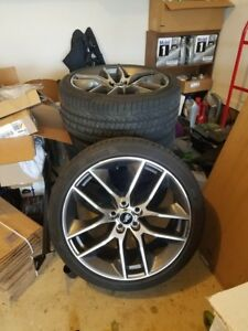 2016 Mustang Gt 20 Stock Foundry Wheels And Tires Great Shape