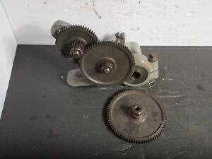 South Bend 10 9 Lathe Banjo Assembly 80t 72t 54t Gears Used Machinist
