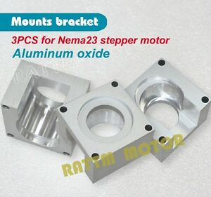 3pcs Nema 23 Stepper Motor Mounts Bracket Block For Cnc Router Plasma Cutter