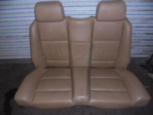 Bmw E36 Convertible Tan Rear Seat Set Fits 94 99 318 323 325 328