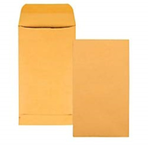 Quality Park Coin small Parts Envelopes 5 5 Brown Kraft 3 125 X 5 5 inches