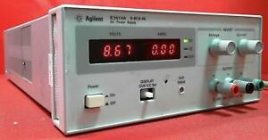 Agilent E3614a oem Dc Power Supply 0 To 8 Vdc 0 To 6 A My40000952