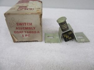 Nos 1960 Ford Galaxie 3speed Overdrive Transmission Kickdown Switch Assembly Dp