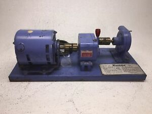 Randolph Peristaltic Tubing Pump Series 500 Model 500 Chemical Good Condition