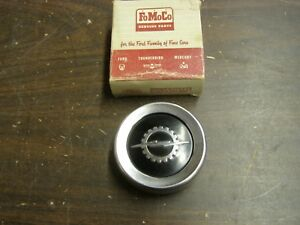 Nos Oem Ford 1957 1960 Truck Pickup Steering Wheel Horn Button 1958 1959 F100