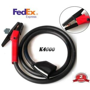 K4000 Air Carbon 1000amp Arc Gouging Torch Heavy Duty With 7 Cable Welding