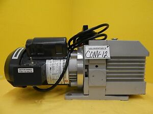 D4b Trivac Leybold 305833 1003 Rotary Vane Mechanical Vacuum Pump Used Tested