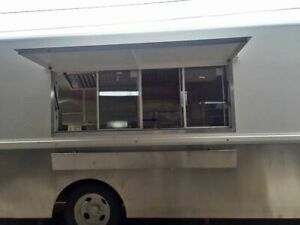 Never Used Chevrolet Diesel Step Van Kitchen Food Truck W Pro Fire Suppression