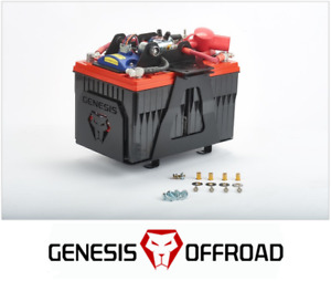 Genesis Offroad Dual Battery Kit W 200 Amp Isolator For 2007 2018 Toyota Tundra