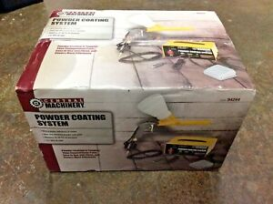 Central Machinery 94244 Powder Coating System Brand New In Box