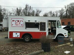 P30 Step Van Food Truck Spacious Mobile Kitchen Unit For Sale In Virginia