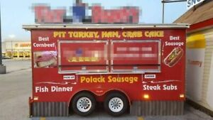 6 X 14 2010 Erskine And Son Inc Food Concession Trailer Mobile Food Unit For
