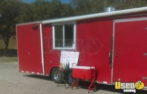 8 X 24 Food Concession Trailer For Sale In Kansas