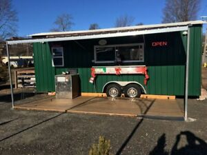 2007 8 X 26 Food Pizza Concession Trailer For Sale In Connecticut