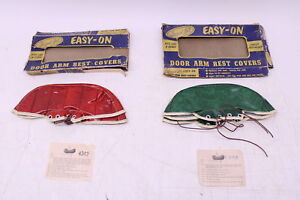 Vintage Howard Zink Easy on Door Armrest Cover Red Or Green Nos Plymouth Dodge
