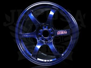 Rays Gram Lights 57dr Wheels Eternal Blue Pearl 18x9 5 5x114 38