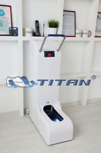 Automatic Shoe Cover Dispenser Titan 200 white Color