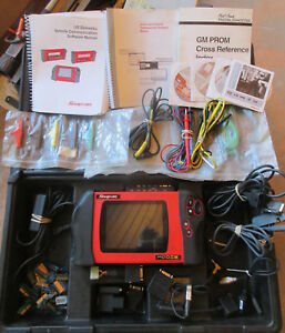 Snap on Modis Diagnostic Scanner With Case Manuals Cables Keys Probes Etc