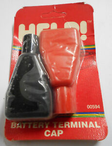 Dorman Help 00594 Universal Battery Terminal Covers Red Black Made In Usa