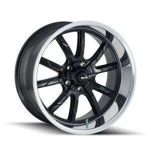 Cpp Ridler 650 Wheels 18x8 18x9 5 Fits Plymouth Belvedere Fury Gtx