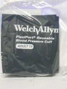 Welchallyn Flexport Reusable Blood Praessure Cuff Adult 11 901043 10 Peices