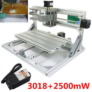 3 Axis 3018 Grbl Control 2500mw Laser Diy Cnc Router Milling Engraving Machine