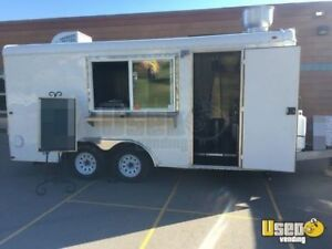 8 5 X 16 Food Concession Trailer For Sale In South Dakota