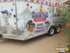 2012 8 5 X 17 Shaved Ice Concession Trailer For Sale In Arizona