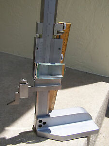 Mitutoyo Stainless Steel 24 Vernier Height Gauge 514 Series