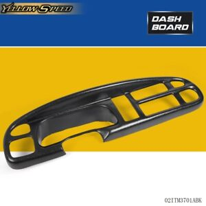 Plastic Black Dash Board Bezel Cover Cap For 98 01 Dodge Ram Pick 1999 2000