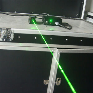 Lab Pure 532nm 100mw Green Laser Module W Tec Cooling 0 8mm Beam Size