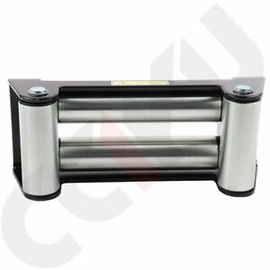Super Heavy Duty Winch Roller Fairlead 10 Universal 4 Way Roller Cable Guide