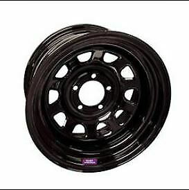 Bart Wheels 7015806 15x8 In Black Paint Steel Super Trucker Wheel